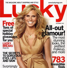 Load image into Gallery viewer, LUCKY Magazine December 2007
