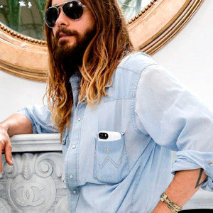 Jared Leto Paris Fashion Week 2014 Marie Claire