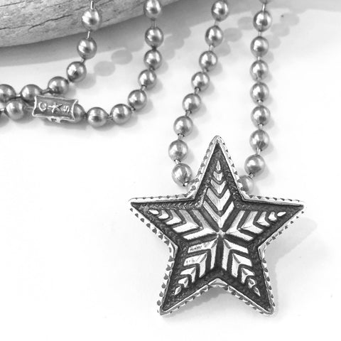 Small Depp Star Pendant<br>By Cody Sanderson