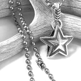 Reversible Star Pendant<br>By Cody Sanderson