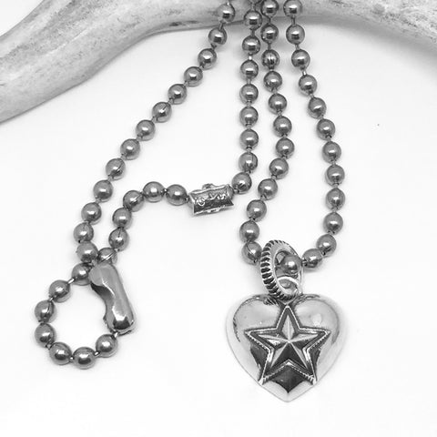 Heart & Sheriff Star<br>By Cody Sanderson