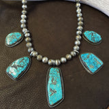 5 Stone Morenci Necklace
