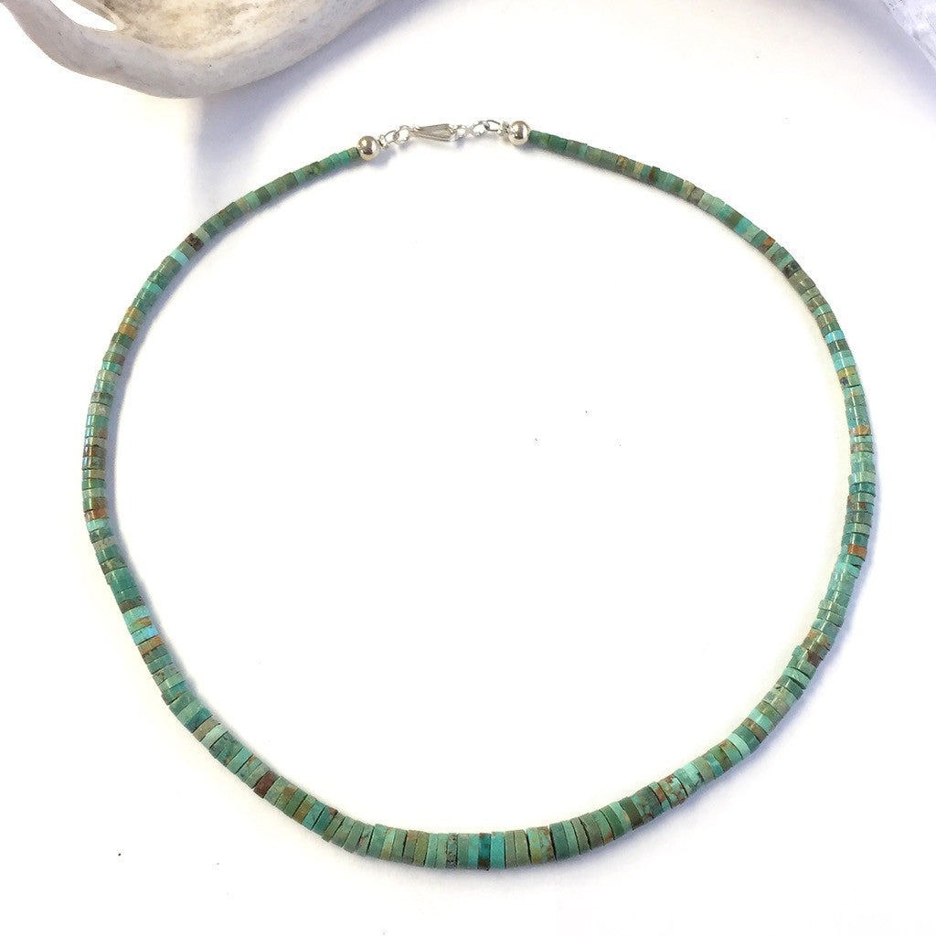 Single Strand Green Turquoise