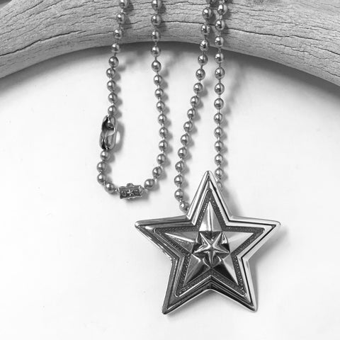 Big Star In Star Pendant By Cody Sanderson