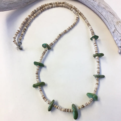 Old Pueblo Natural Tab Necklace
