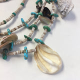 4 Strand Vintage Pueblo Necklace