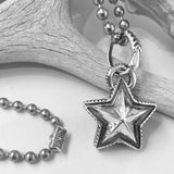 Small Reversible Star Pendant<br>By Cody Sanderson