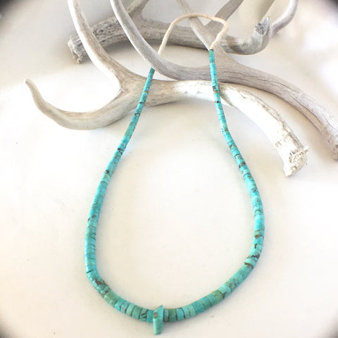 Single Strand Vintage Turquoise