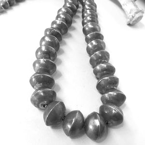 "Vintage Navajo Pearls<br>24"" Long"