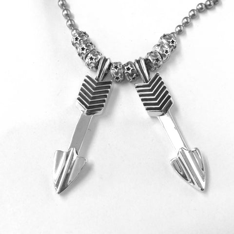 Double Arrow With Star Beads<br>By Cody Sanderson
