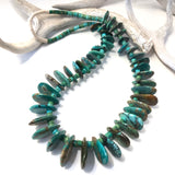 Vintage American Turquoise Tab Necklace