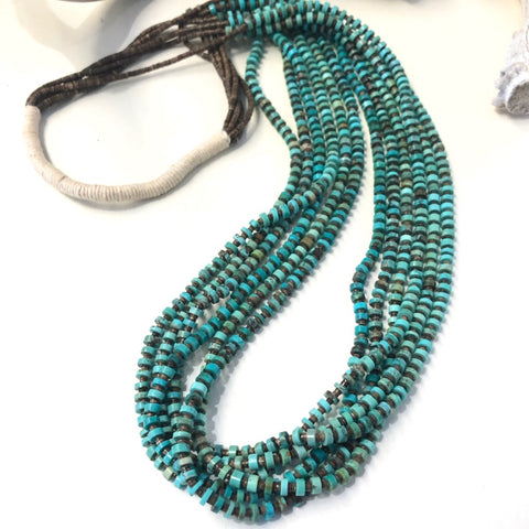 Six Strand Pueblo Necklace