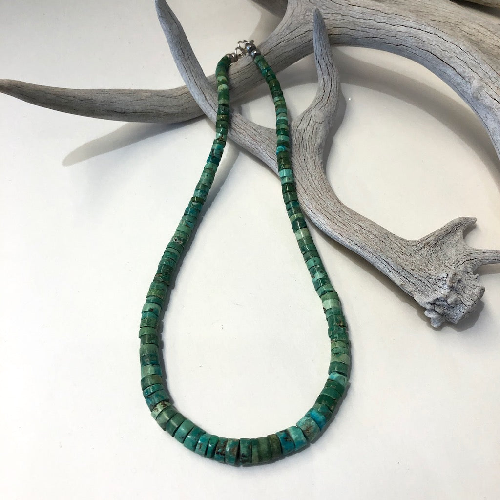 Vintage Natural Green Turquoise