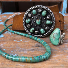 "Load image into Gallery viewer, 26"" American Turquoise Heishi"