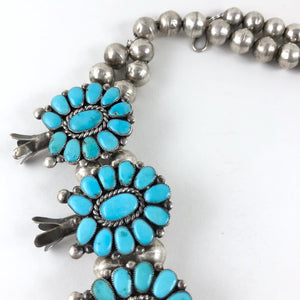Large Vintage Zuni Cluster Necklace