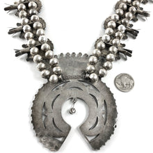 Load image into Gallery viewer, Large Vintage Zuni Cluster Necklace
