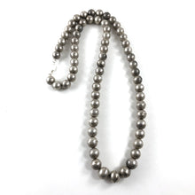 "Load image into Gallery viewer, Vintage Navajo Pearls<br>30"" long"