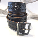 Studded Vintage Belt  Size: 36