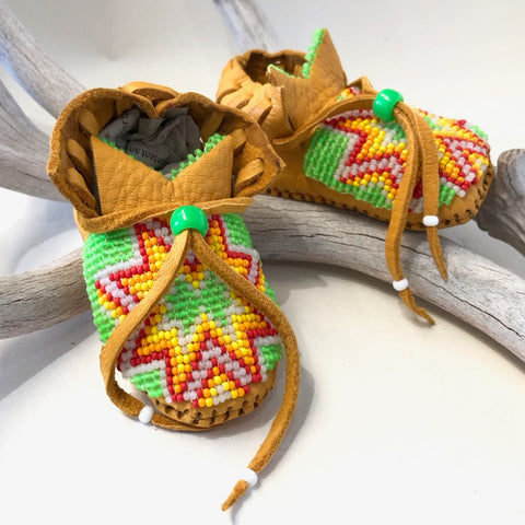 Baby Mocassins<br>By John Abdo Jr.