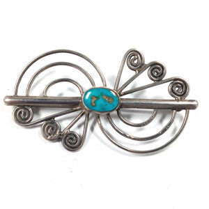 1950's Turquoise Pin