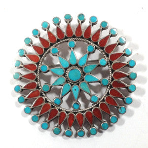Shine It On! C.G. Wallace Era Zuni Pin