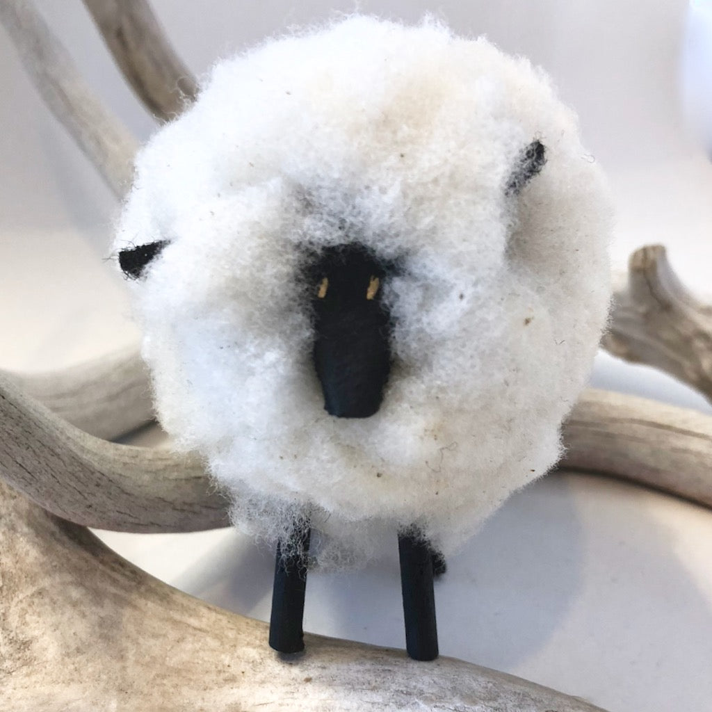 Small Navajo Folk Art Sheep<br>By Norman Willy