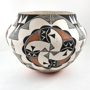 Acoma Polychrome Jar<br>By N. Lucero