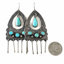 Load image into Gallery viewer, Vintage Navajo Earrings