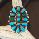 Vintage Turquoise Cluster   Size: 7