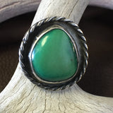 Deep Green Turquoise    Size: 8