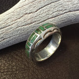Vintage Inlaid Band    Size: 7 1/2