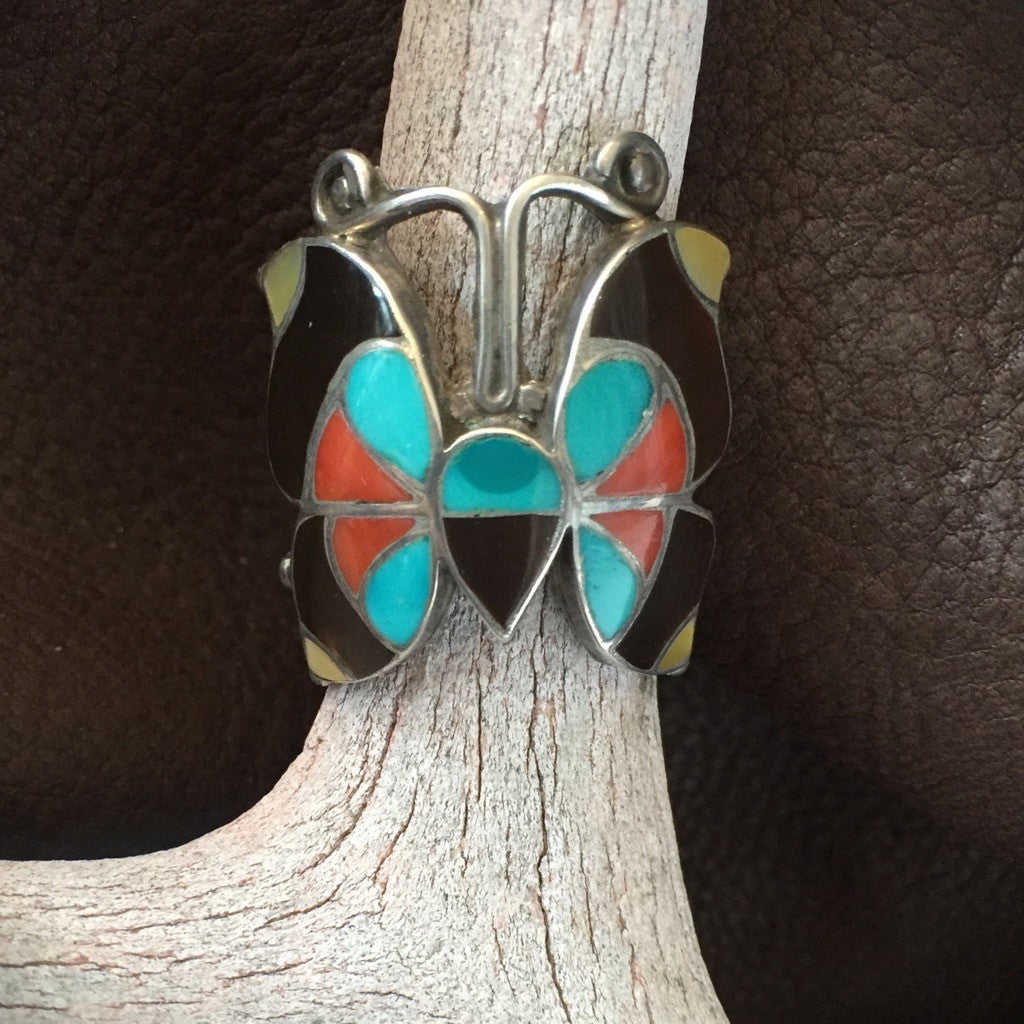 Vintage Butterfly Ring      Size: 6 1/2