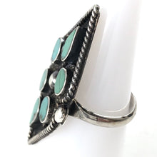 Load image into Gallery viewer, Vintage Flat Dot Ring<br>Size: 5