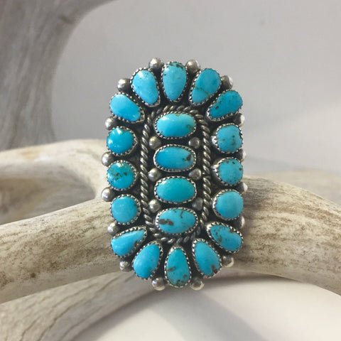Zuni Cluster Ring  Size: 7