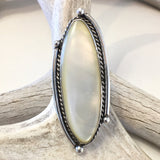 Mother Of Pearl<br>Size: 10