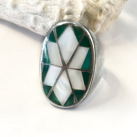 Zuni Inlay<br>Size: 12