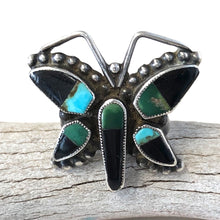 Load image into Gallery viewer, Vintage Butterfly Ring<br>Size: 9