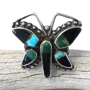 Vintage Butterfly Ring<br>Size: 9