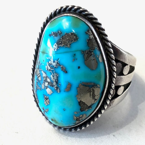 Vintage Morenci Turquoise<br>Size: 12