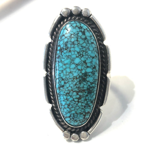 Vintage #8 Turquoise<br>Size: 10