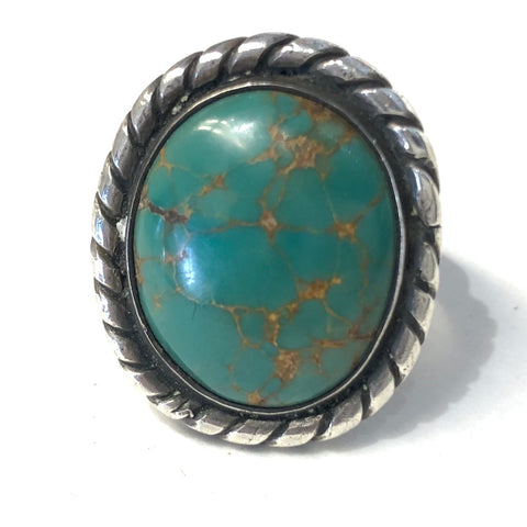 Soft Round Vintage Ring<br>Size: 7.5