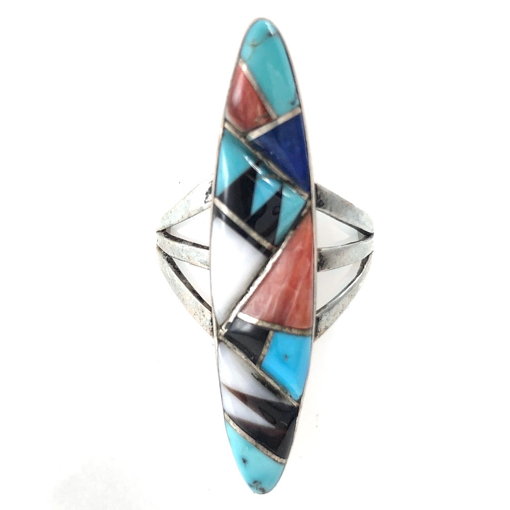 Vintage Abstract Inlay<br>Size: 8