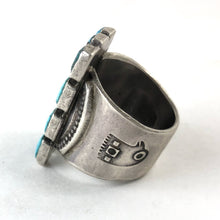 Load image into Gallery viewer, Twelve Stone Ring<br>By Jock Favour<br>Size: 9