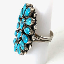 Load image into Gallery viewer, Vintage Zuni Cluster Ring<br>Size: 8.5
