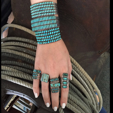 Ropes & Rows of Turquoise!