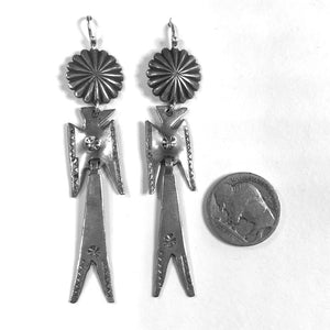Vintage Peyote Bird Earrings