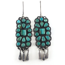 Load image into Gallery viewer, Vintage Cluster Earrings