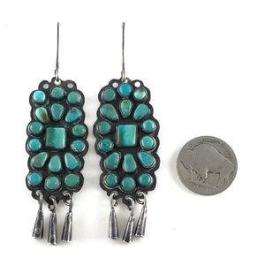 Vintage Cluster Earrings