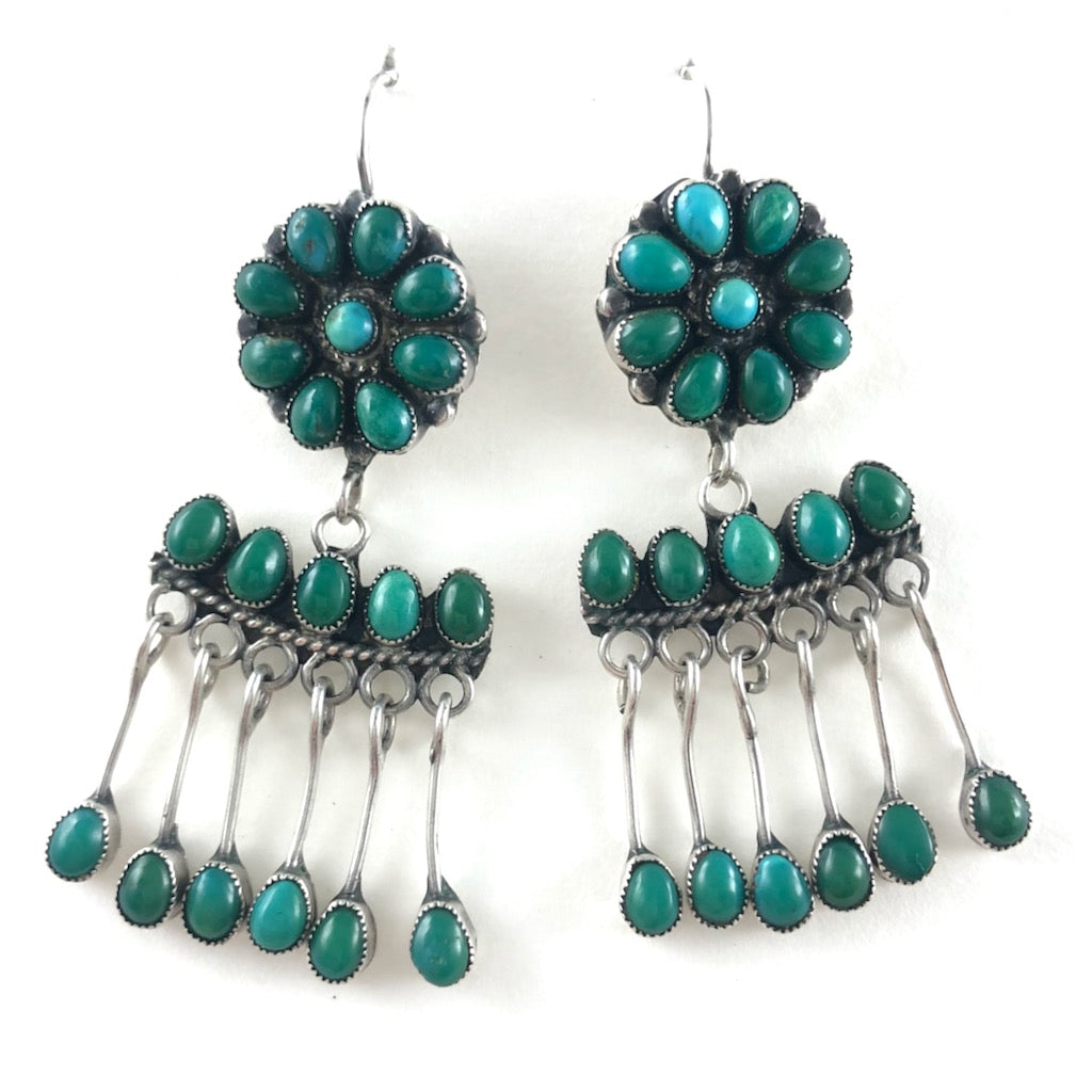 Vintage Cluster Earrings<br>By Mary Eriacho