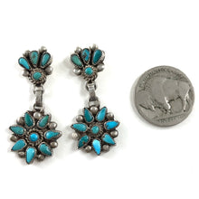 Load image into Gallery viewer, Vintage Small Petit Point Earrings